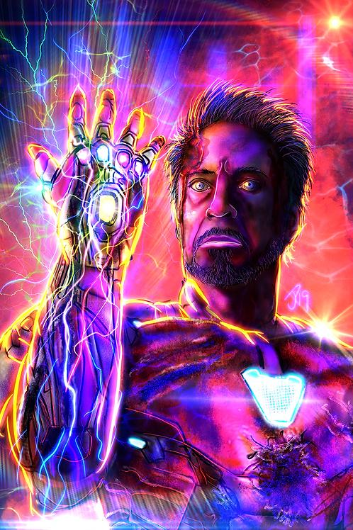"""I Am Iron Man"" Art Print"