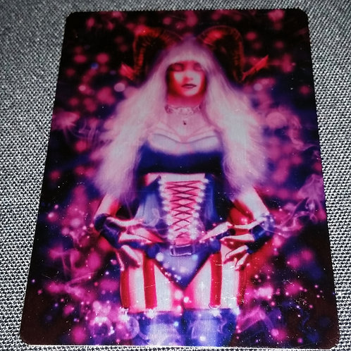 """Magick"" METAL collectible card #26"
