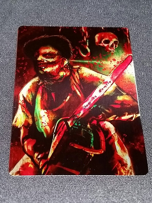 """""""The Saw is Family"""" METAL Collectible Card #72"""