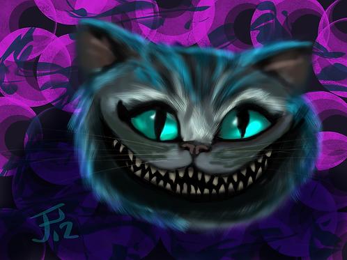 """Cheshire Smile"" Art Print"