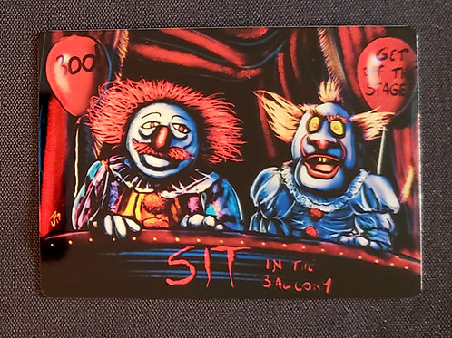 """We All Float Up Here"" METAL Collectible Card #100"