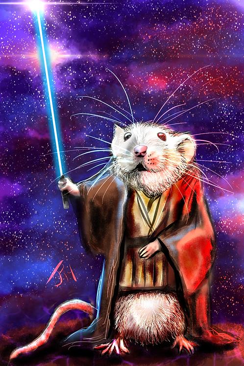 """""""Jedi Bizness"""" Art Print"""