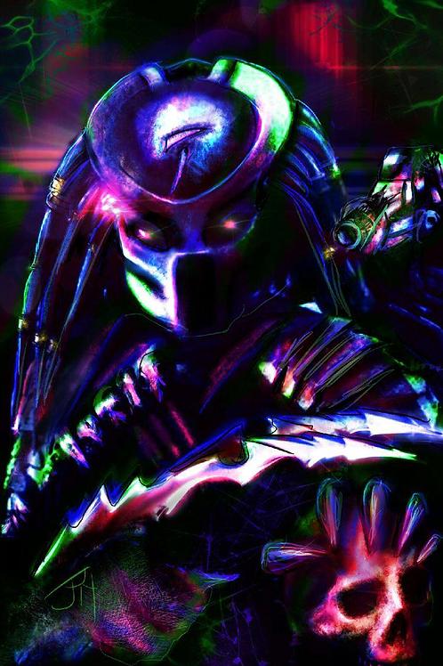 """""""Infrared Hunter"""" Art Print"""