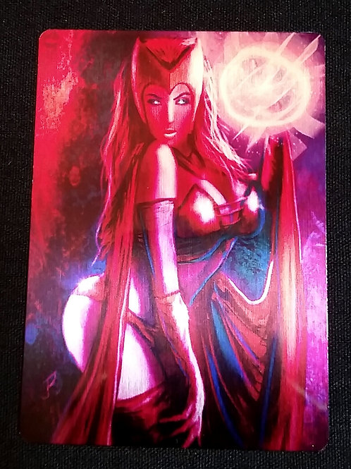 """Love is for Souls..."" METAL Collectible Card #62"