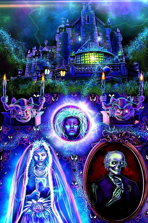 """""""Welcome Foolish Mortals"""" Art Print"""