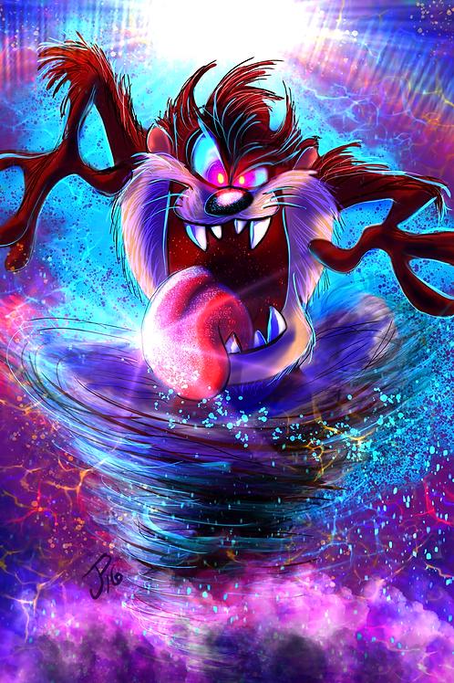 """Devil Storm"" Art Print"