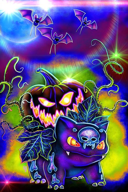"""""""Pumpkin Spore"""" Art Print"""