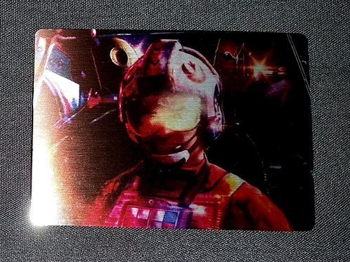 """""""Stay on Target"""" METAL collectible card #50"""