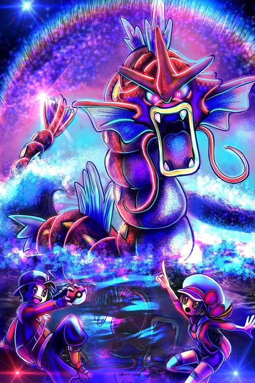 """""""Lake of Rage"""" Art Print"""