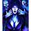 """Thumbnail: """"A Spooky Pair"""" Art Print"""
