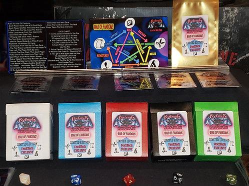 """PescEffects: """"War Of Fandoms"""" Trading Card Game Starter Set"""