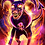 "Thumbnail: ""Flame Blast"" Art Print"