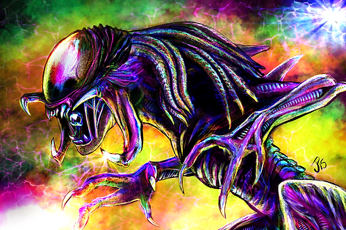 """The Deadliest Fusion"" Art Print"