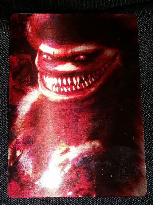 """""""Critter"""" METAL collectible card #10"""
