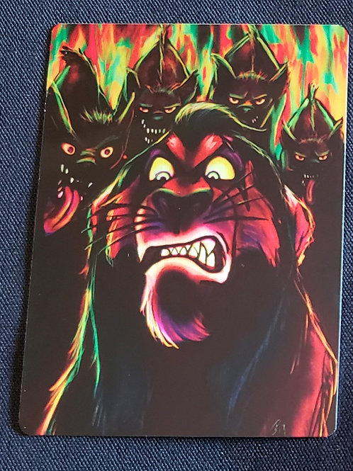 """""""Long Live The King"""" METAL Collectible Card #82"""