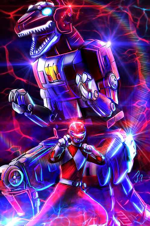 """We're Back And Ready To Morph Into Action!"" Art Print"