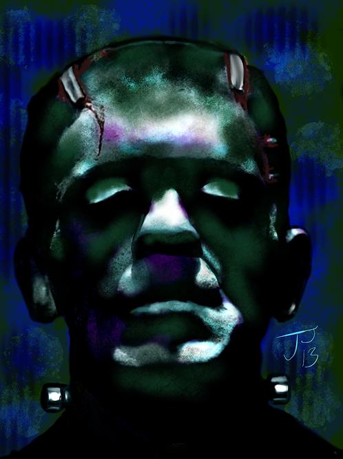 """""""The Monster""""  Art Print"""