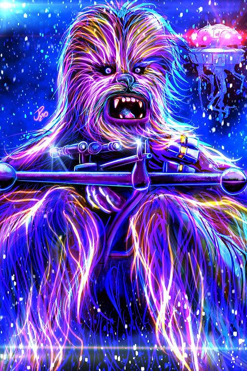 """""""Storm Wookiee"""" (2020) Art Print"""