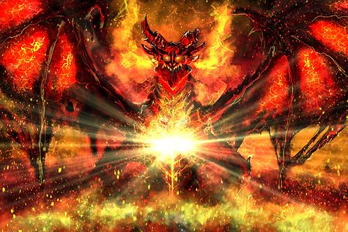"""""""All Will Burn!"""" Art Print"""
