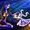 "Thumbnail: ""Fetch By Moonlight"" Art Print"