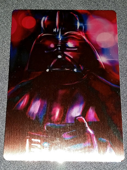 """Dark Lord of the Sith"" METAL collectible card #51"