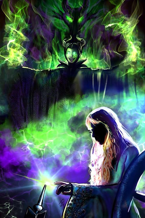 """This Curse Will Last...""  Art Print"