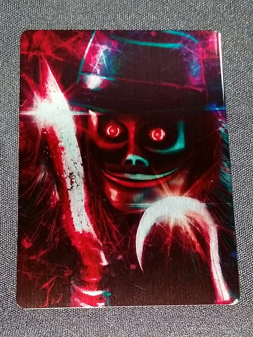 """I'm the Master..."" METAL Collectible Card #67"