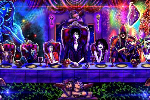 """The Endless Supper"" 3-Piece SET Art Prints"