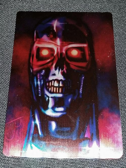"""Terminator"" METAL collectible card #07"