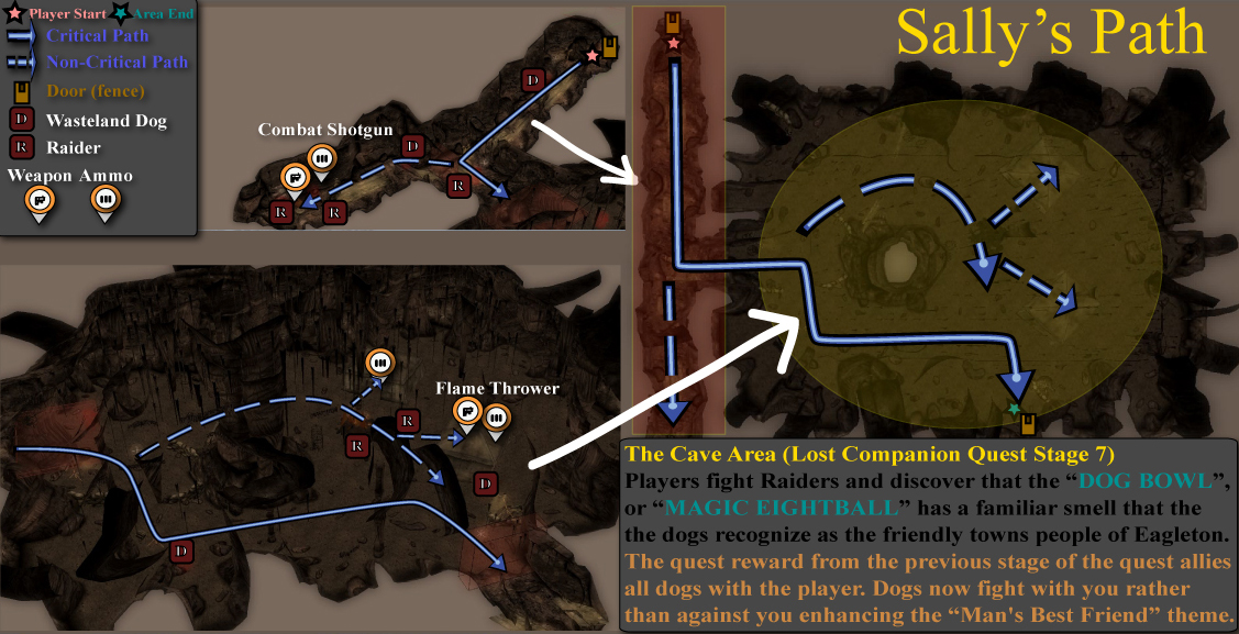 Quest Branching Area - Caves