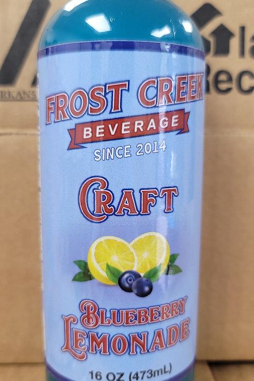 12 pk Blueberry Craft Lemonade 16 oz bottle