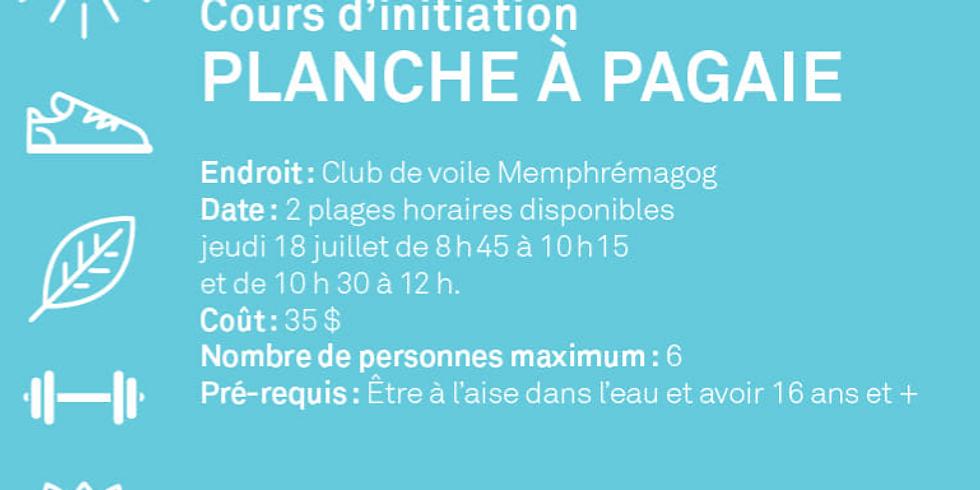 Introduction planche à pagaie 8h45