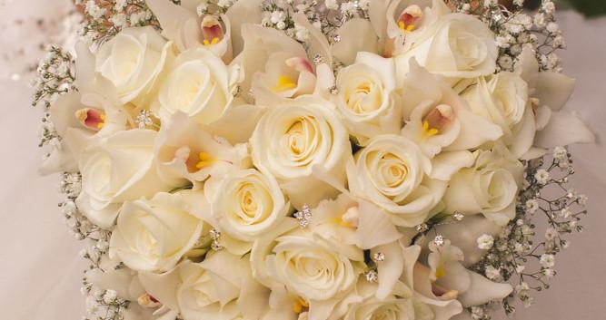 Heart Bride's Bouquet