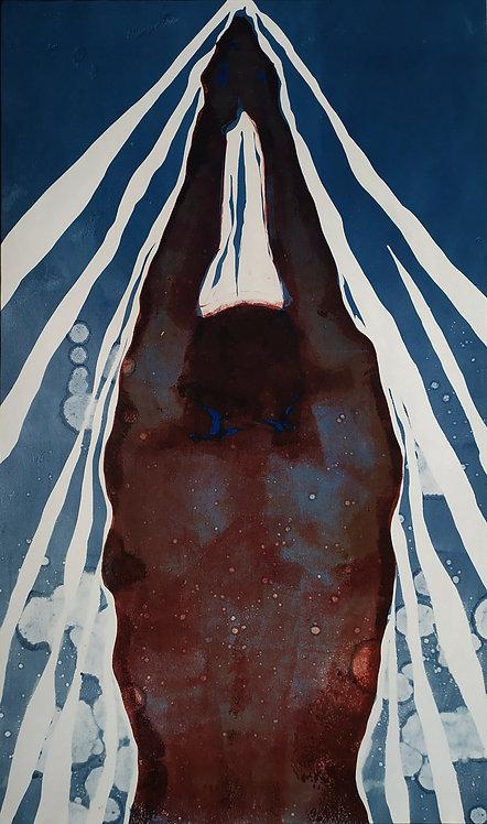 Basis of Life (3/3 of triptych) by VARVARA DROBINA
