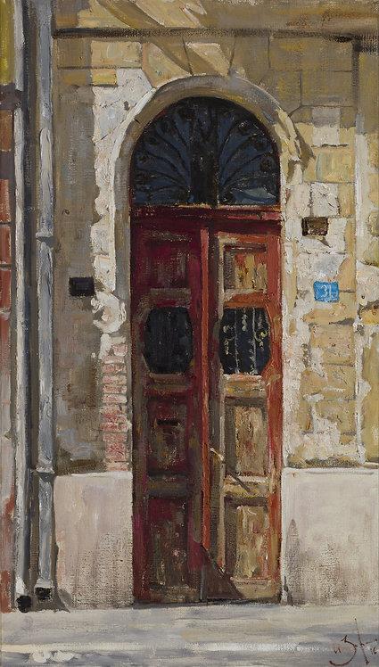 Serbian Door by ILYA ZORKIN