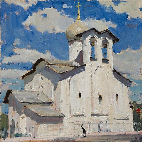 Church of Peter and Paul in Pskov by ILYA ZORKIN