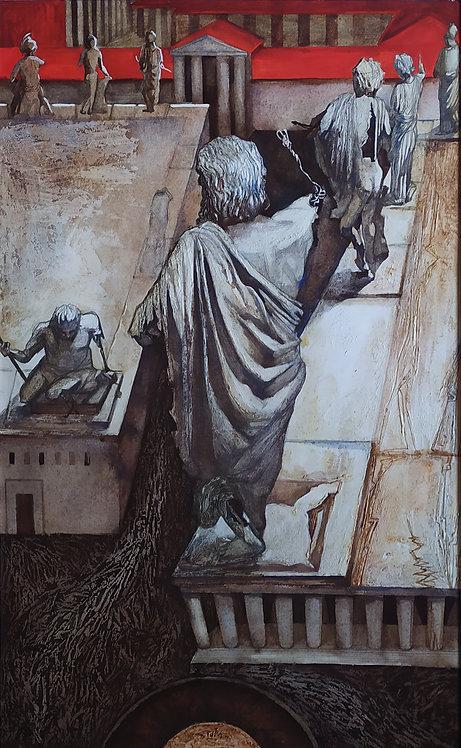 Medea Do Gods Need People by VARVARA DROBINA