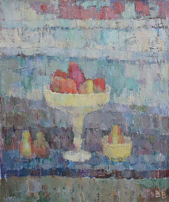 Red Pears by VARVARA VYBOROVA