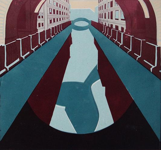 Winter Bridge by VARVARA DROBINA