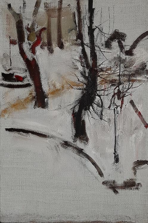 Petrov's Garden. Fresh Snow by YURIY USHAKOV