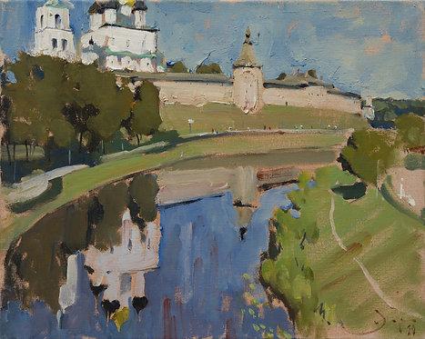 Pskov Krom by ILYA ZORKIN