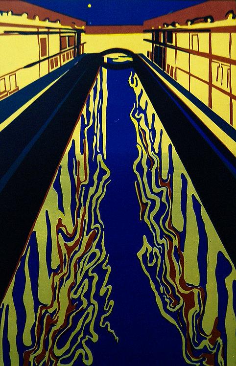 My City (3/3 of triptych) by VARVARA DROBINA