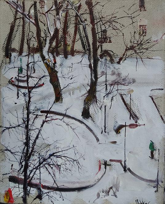 Petrov's Garden. Winter Tale by YURIY USHAKOV