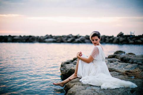 sposa sul mare