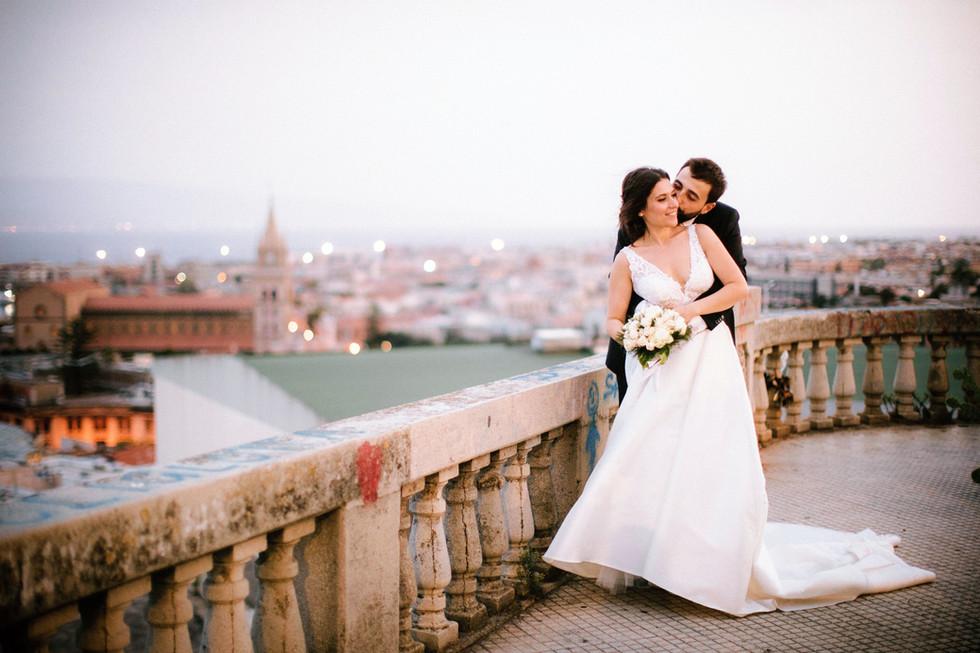 Matrimonio a Villa Pulejo, Messina.