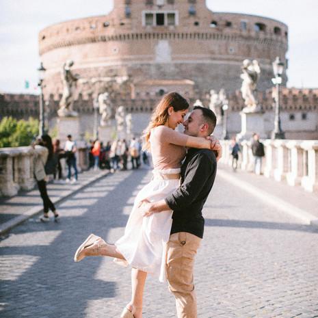 """Il tuo """"engagement"""" nella città più bella del mondo: Roma."""