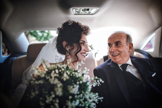 sposa e padre