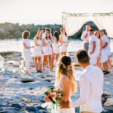 White Wedding in Pizzo Calabro: il giorno di Ramona e Dario