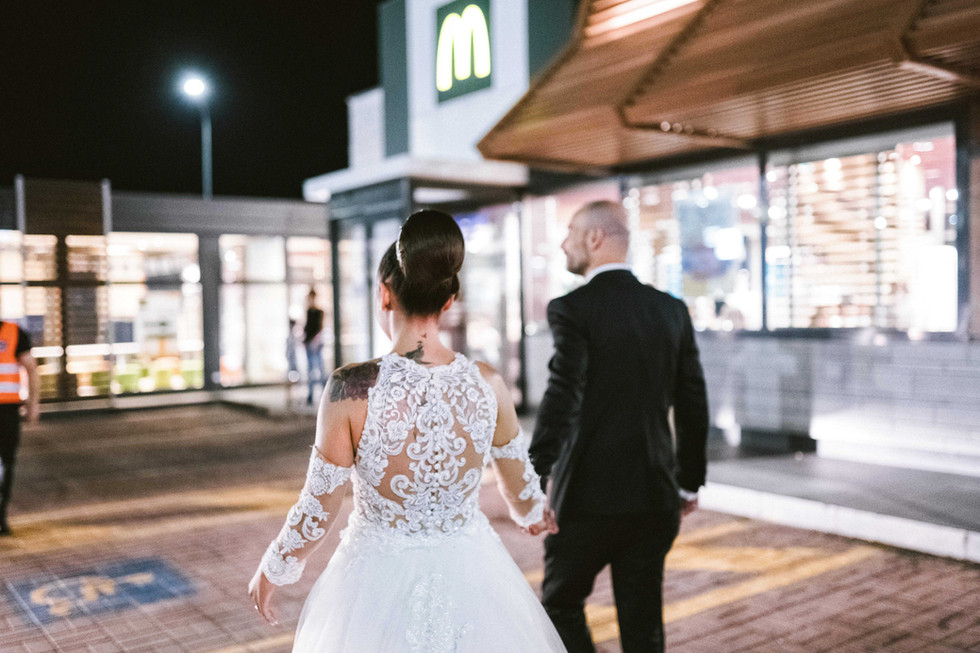 Matrimonio a Tenuta Calivello. (Ma prima passiamo al Mc Donald's)