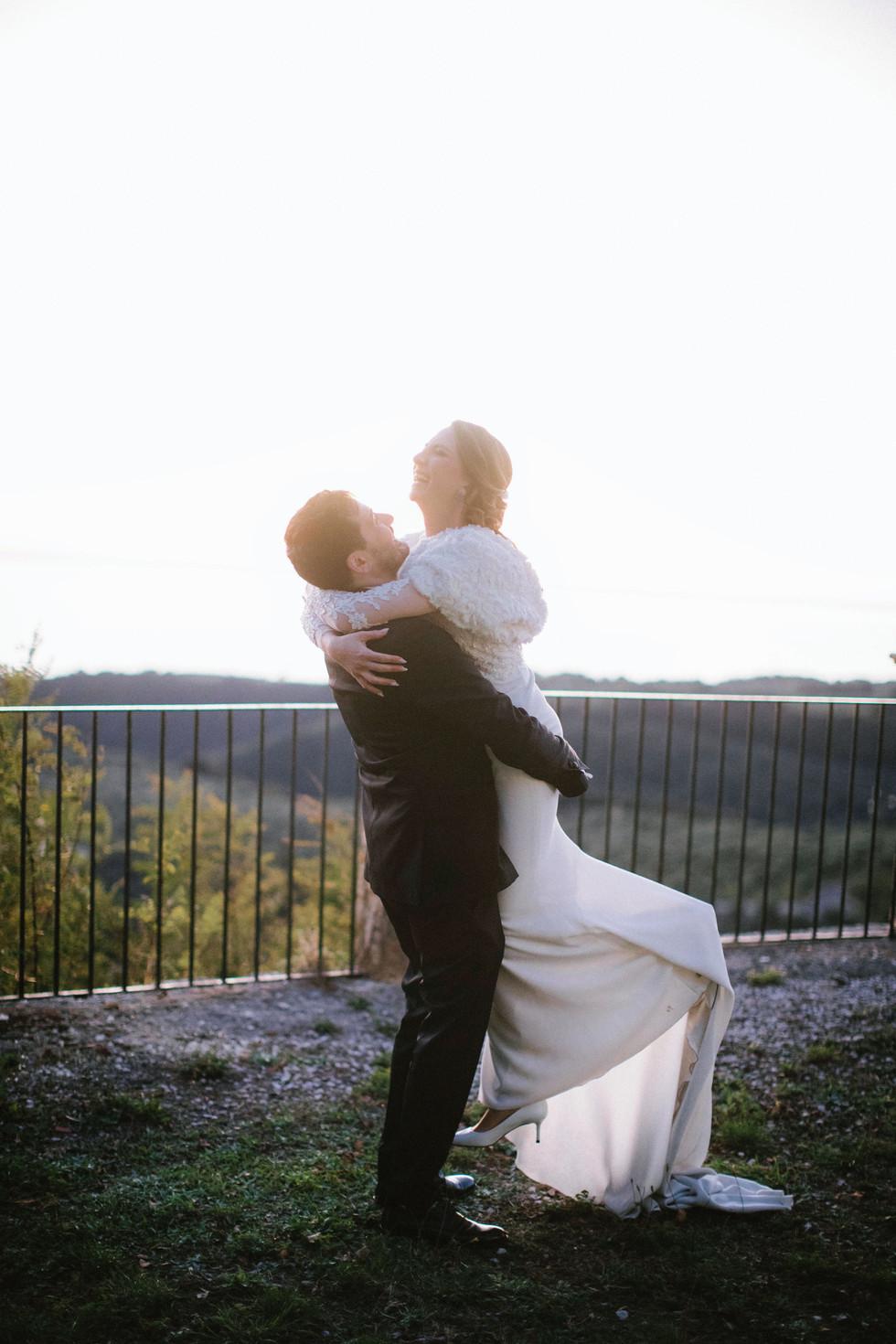 Matrimonio a Tenuta delle Grazie. Il giorno di Francesca e Cesare